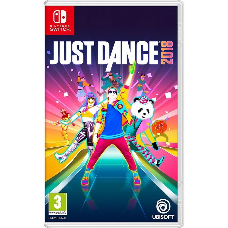 SWITCH JUST DANCE 2018 - Jeux Switch au prix de 59,95€