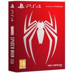 PS4 SPIDERMAN EDITION SPECIALE OCC - Jeux PS4 au prix de 29,95€