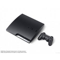 CONSOLE PS3 SLIM NOIRE 120 GO - Consoles PS3 au prix de 59,95€