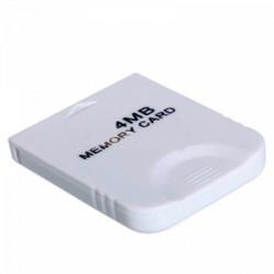 CARTE MEMOIRE GAMECUBE 4 MO NO - Accessoires GameCube au prix de 2,95€