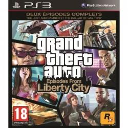 PS3 GTA IV LIBERTY CITY ( SOUS BLISTER ) - Jeux PS3 au prix de 14,95€