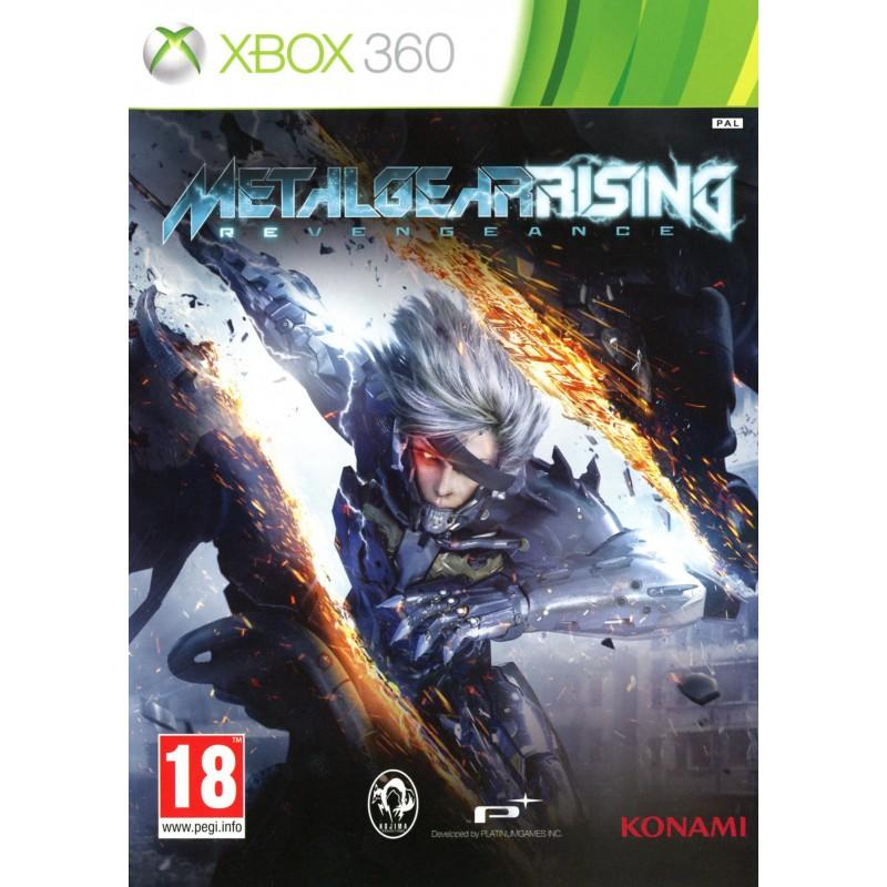 X360 METALGEAR RISING REVENGEANCE - Jeux Xbox 360 au prix de 7,95€