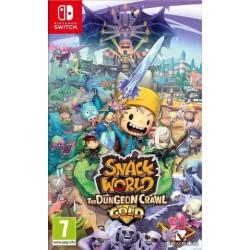 SWITCH SNACK WORLD MORDUS DE DONJON - Jeux Switch au prix de 49,95€