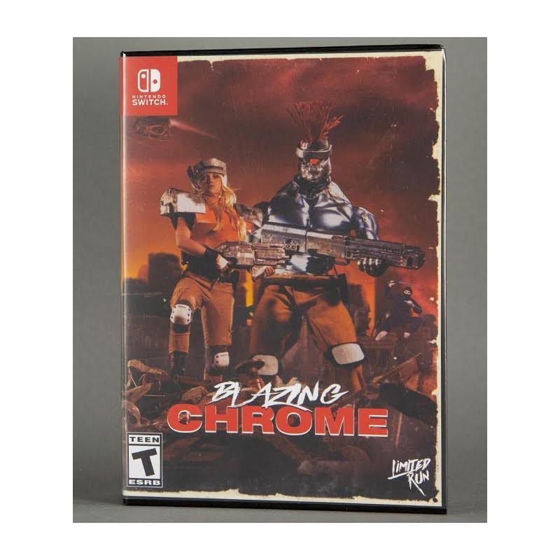 SWITCH BLAZING CHROME VHS EDITION (LIMITED RUN GAMES) - Jeux Switch au prix de 119,95€