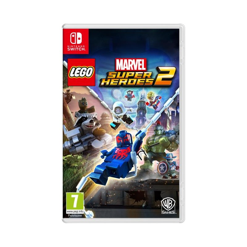 SWITCH LEGO MARVEL SUPER HEROES 2 - Jeux Switch au prix de 44,95€