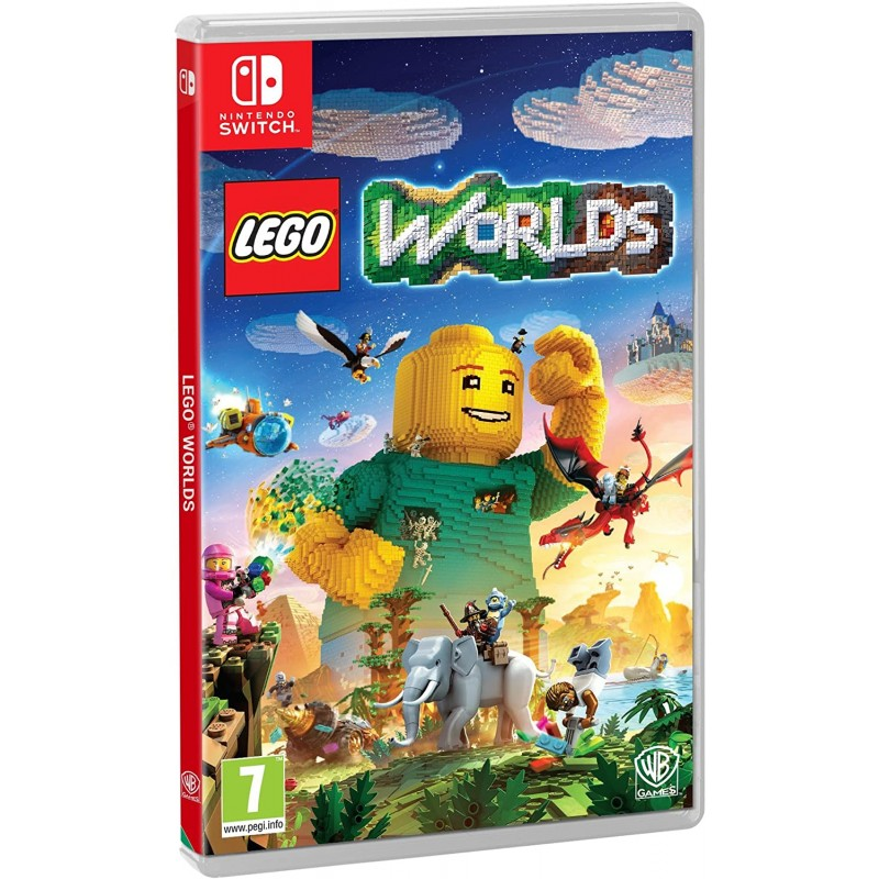 SWITCH LEGO WORLDS - Jeux Switch au prix de 39,95€