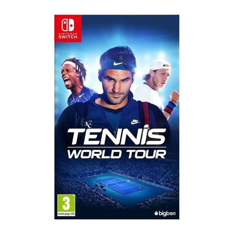SWITCH TENNIS WORLD TOUR OCC - Jeux Switch au prix de 19,95€