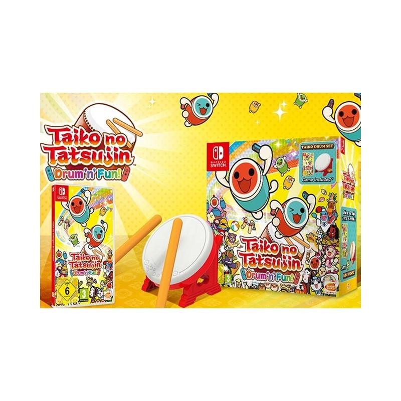 SWITCH TAIKO NO TATSUJIN DRUMN FUN OCC - Jeux Switch au prix de 79,95€