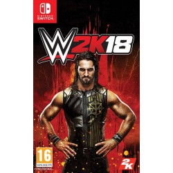 SWITCH WWE 2K18 - Jeux Switch au prix de 29,95€