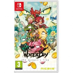 SWITCH WONDERBOY DRAGON TRAP - Jeux Switch au prix de 39,95 €