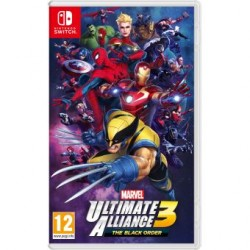 SWITCH MARVEL ULTIMATE ALLIANCE 3 - Jeux Switch au prix de 54,95 €