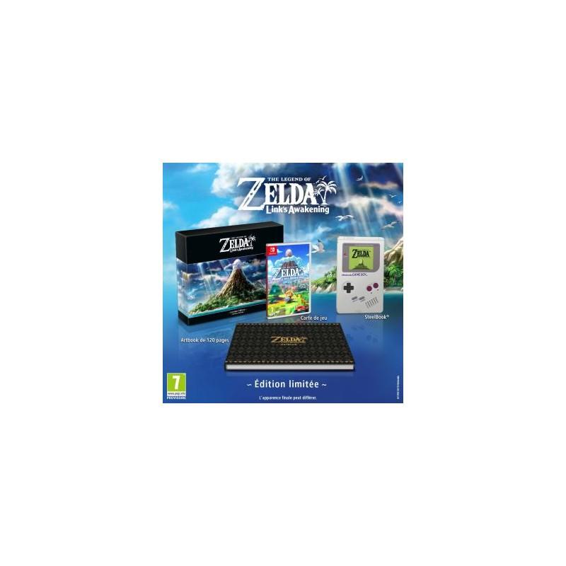 SWITCH ZELDA LINKS AWAKENING EDITION LIMITEE - Jeux Switch au prix de 89,95€