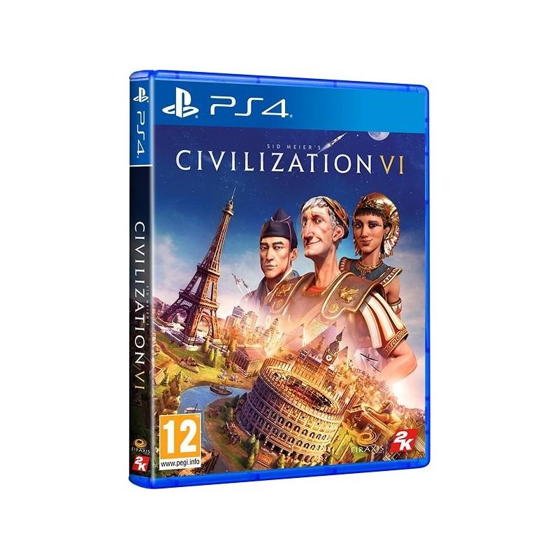 PS4 CIVILIZATION VI - Jeux PS4 au prix de 29,95€
