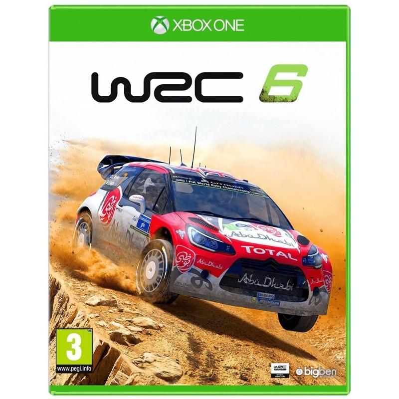 XONE WRC 6 OCC - Jeux Xbox One au prix de 19,95€