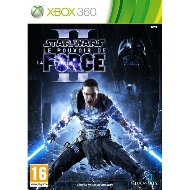 X360 STAR WARS LE POUVOIR DE LA FORCE 2 - Jeux Xbox 360 au prix de 9,95€