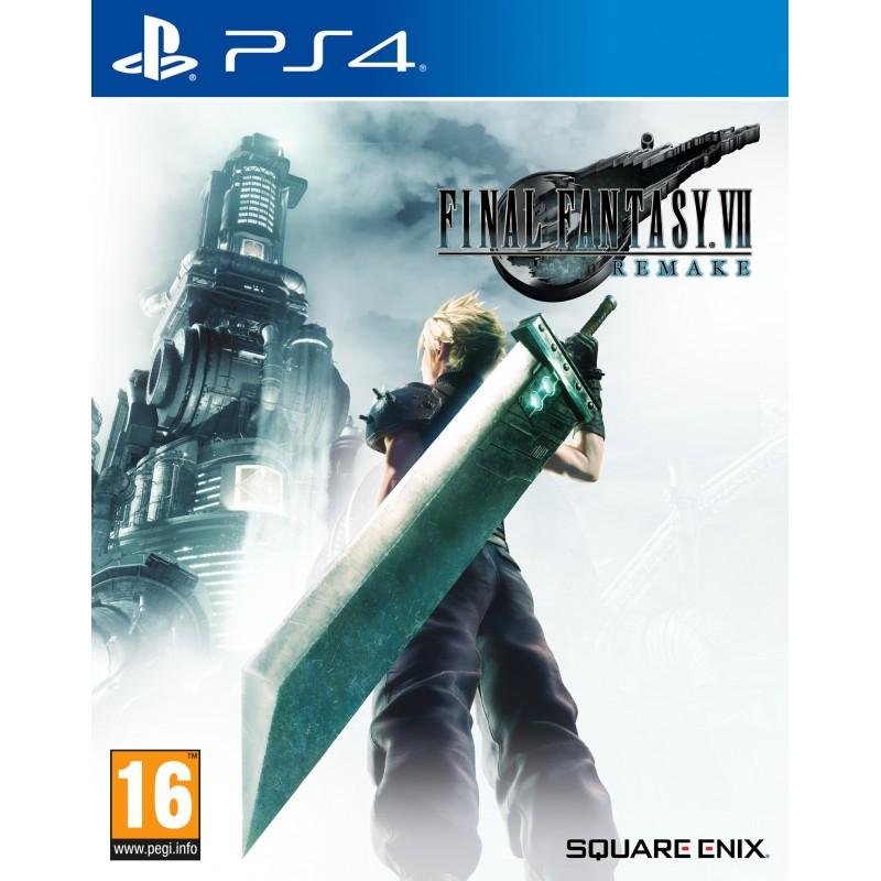 PS4 FINAL FANTASY VII REMAKE OCC - Jeux PS4 au prix de 29,95€