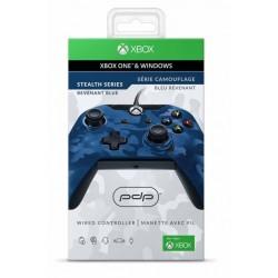 MANETTE FILAIRE XONE PC PDP BLEU REVENANT - Accessoires Xbox One au prix de 34,95€