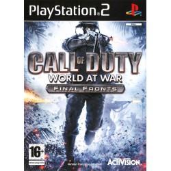 PS2 CALL OF DUTY WORLD AT WAR - Jeux PS2 au prix de 4,95€