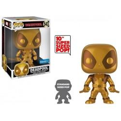 POP DEADPOOL 543 SUPER SIZE GOLD DEADPOOL - Figurines POP au prix de 39,95€