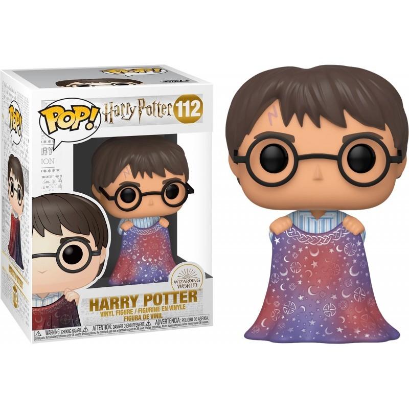 POP HARRY POTTER 112 HARRY POTTER ET LA CAPE D INVISIBILITE - Figurines POP au prix de 14,95€