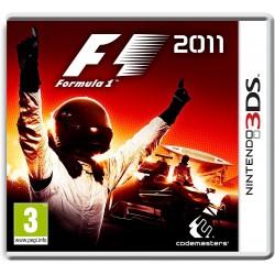 3DS FORMULA ONE 2011 - Jeux 3DS au prix de 19,95€
