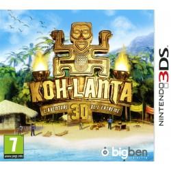 3DS KOH LANTA L AVENTURE DE L EXTREME 3D - Jeux 3DS au prix de 24,95€
