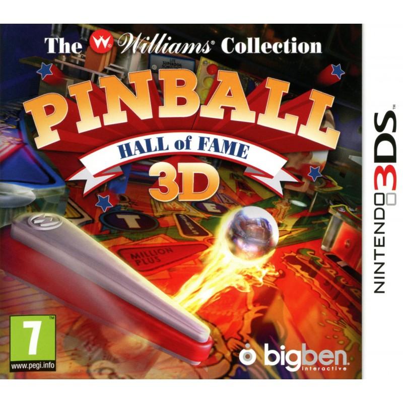 3DS PINBALL HALL OF FAME 3D - Jeux 3DS au prix de 12,95€