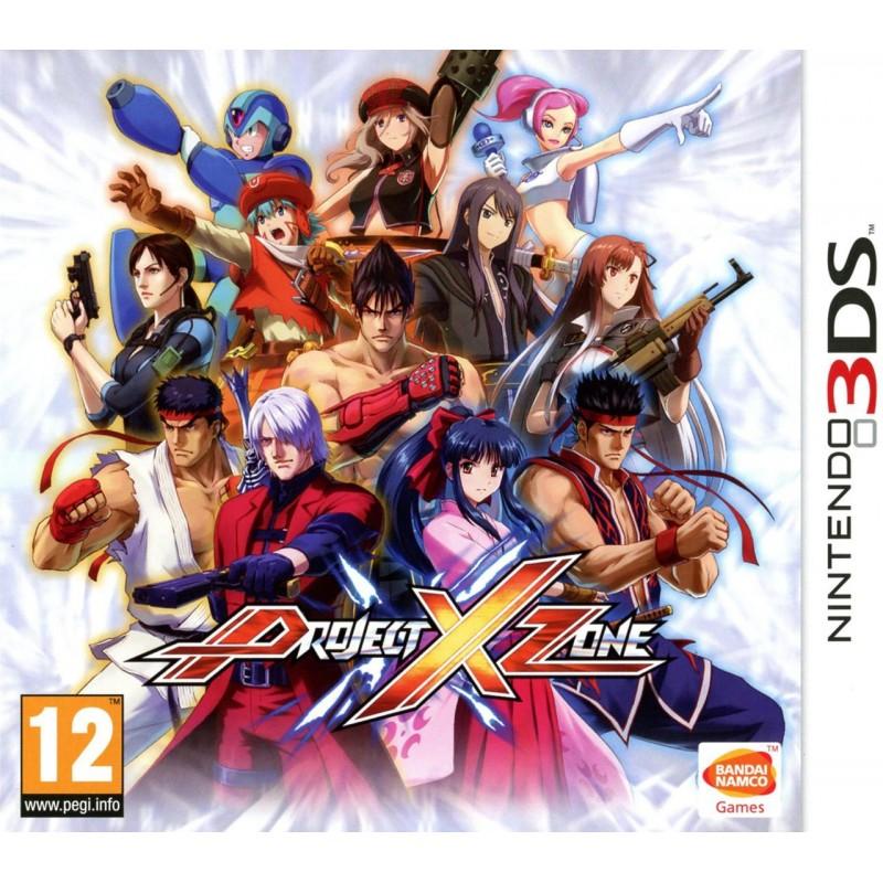 3DS PROJECT X ZONE - Jeux 3DS au prix de 19,95€