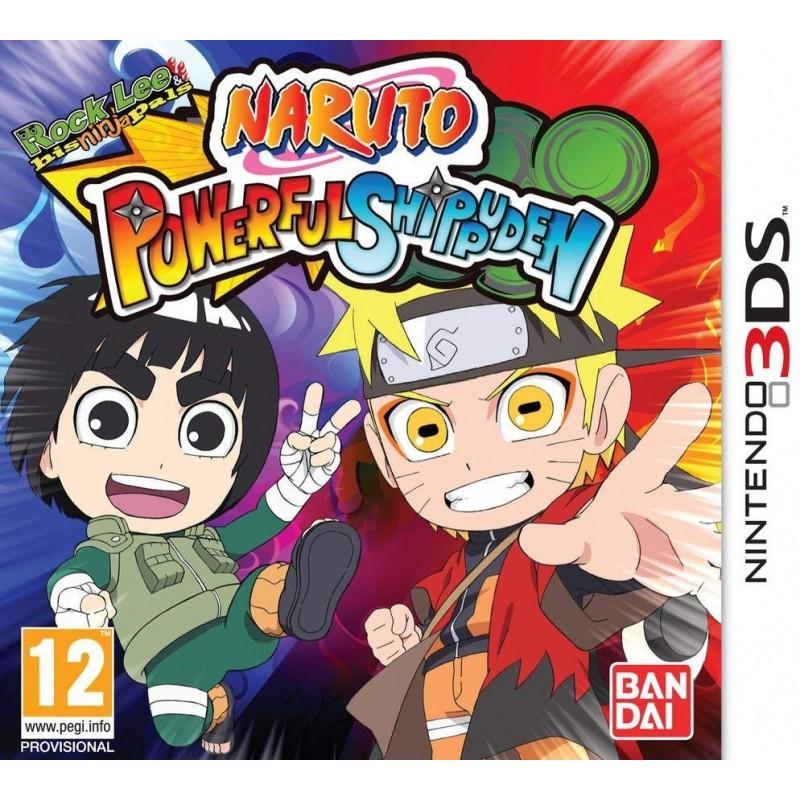 3DS NARUTO POWERFUL SHIPPUDEN - Jeux 3DS au prix de 12,95€