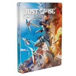 PS4 JUST CAUSE 3 STEELBOOK - Jeux PS4 au prix de 12,95€
