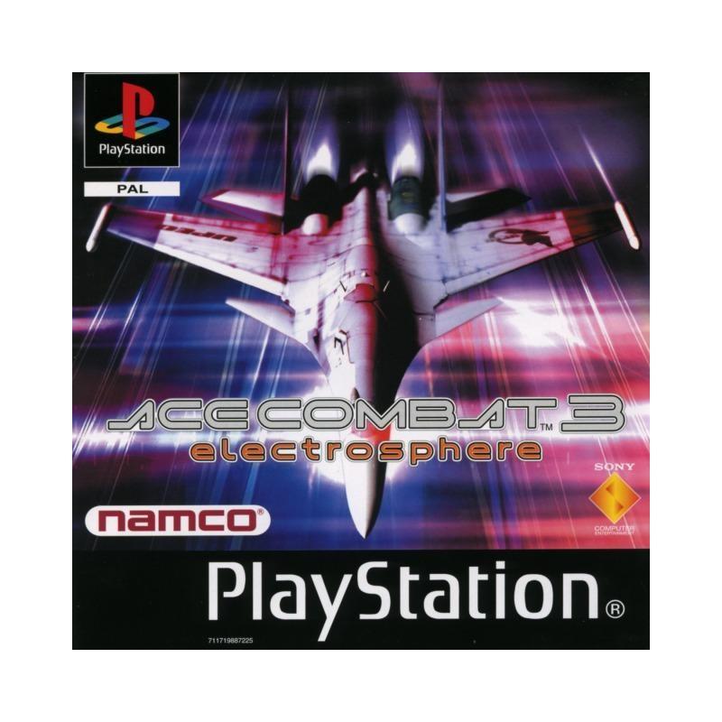 PSX ACE COMBAT 3 - Jeux PS1 au prix de 4,95€