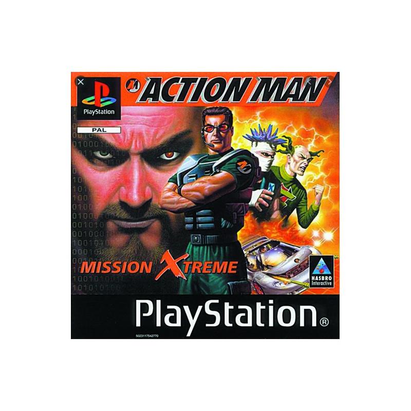 PSX ACTION MAN - Jeux PS1 au prix de 2,95€