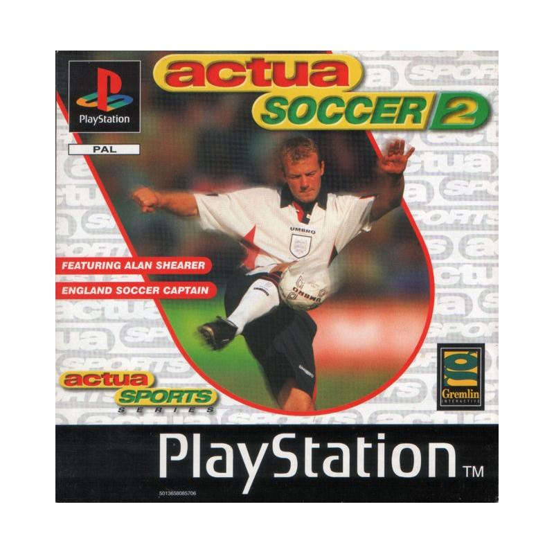PSX ACTUA SOCCER 2 - Jeux PS1 au prix de 2,95€