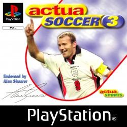 PSX ACTUA SOCCER 3 - Jeux PS1 au prix de 0,95€