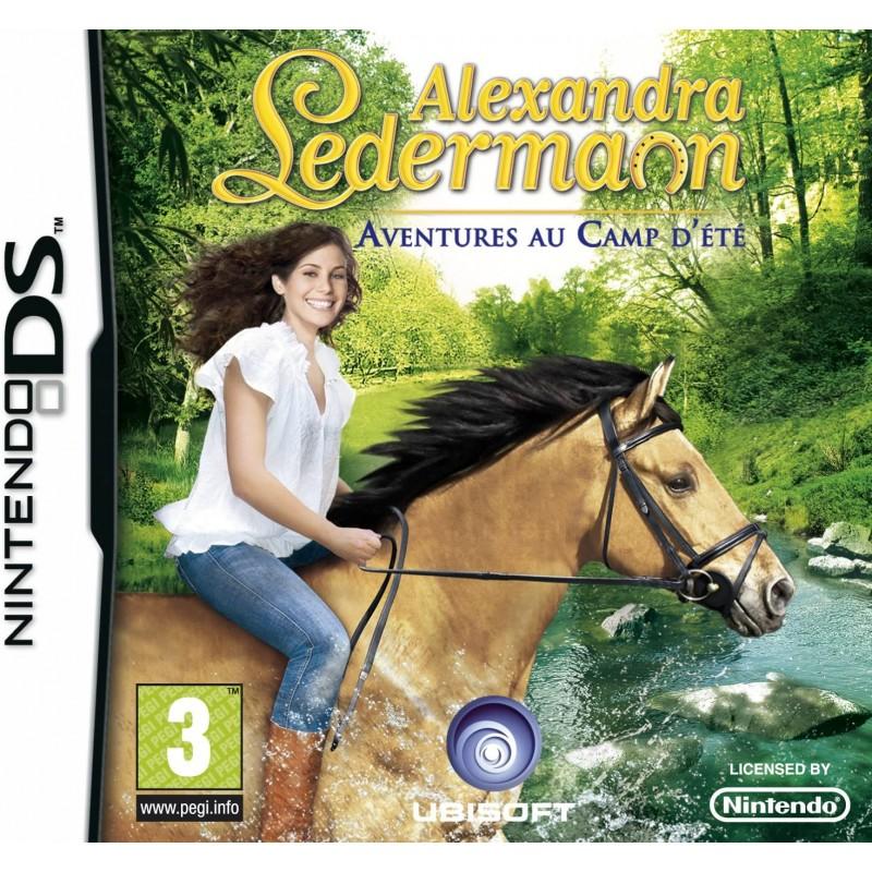 DS ALEXANDRA LEDERMANN AVENTURE DU CAMP D ETE - Jeux DS au prix de 12,95€