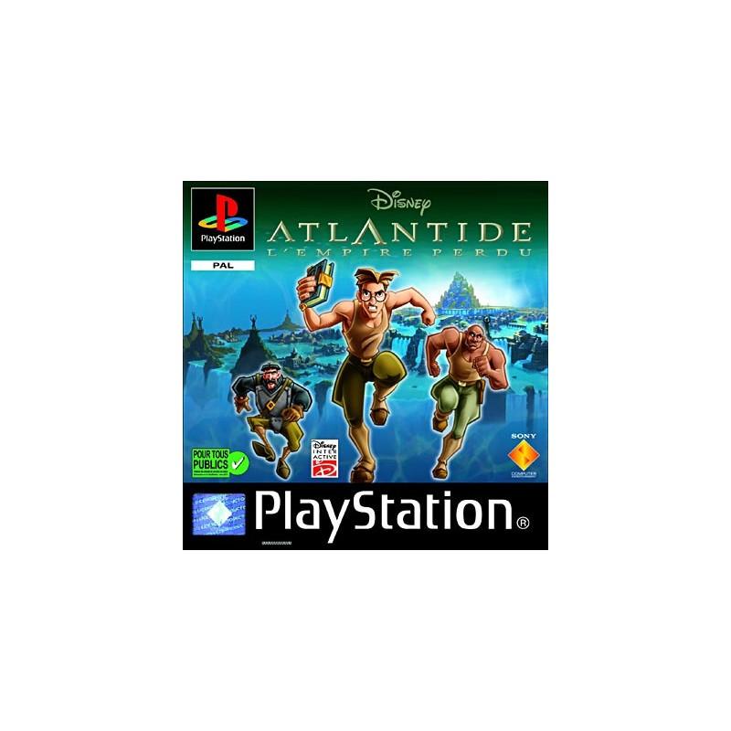 PSX ATLANTIDE : L EMPIRE PERDU - Jeux PS1 au prix de 3,95€