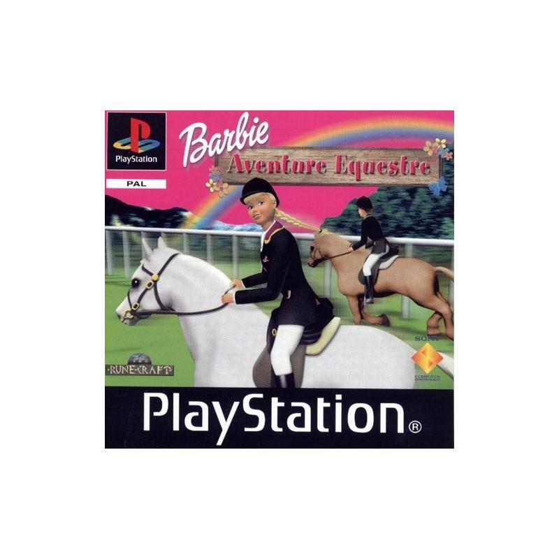 PSX BARBIE AVENTURE EQUESTRE - Jeux PS1 au prix de 3,95€