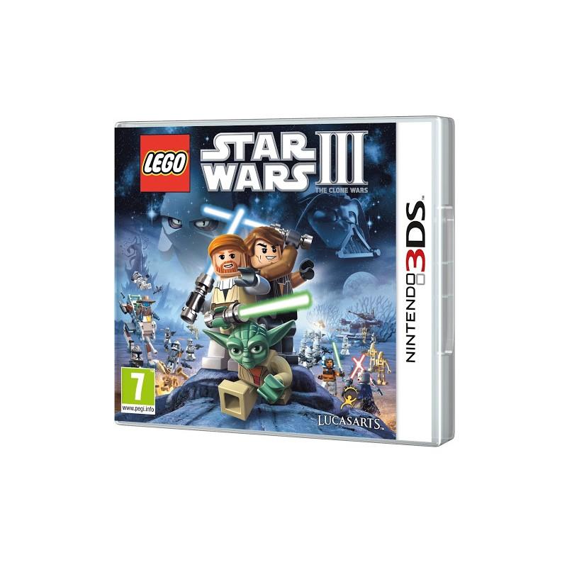 3DS LEGO STAR WARS 3 - Jeux 3DS au prix de 12,95€