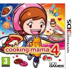 3DS COOKING MAMA 4 - Jeux 3DS au prix de 29,95€