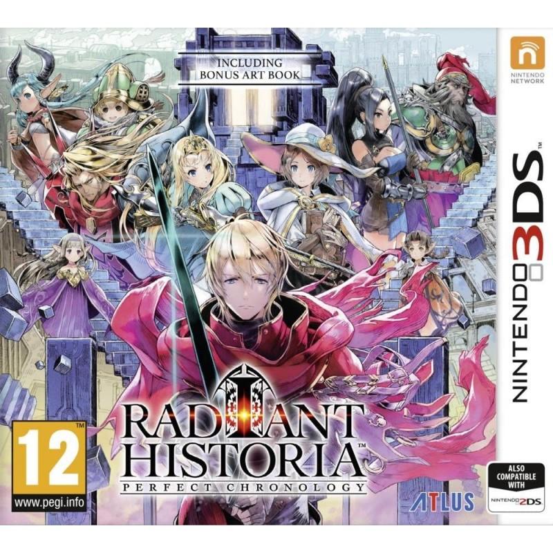 3DS RADIANT HISTORIA PERFECT CHRONOLOGY - Jeux 3DS au prix de 24,95€