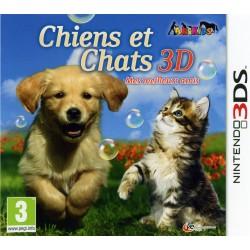 3DS CHIENS ET CHATS 3D - Jeux 3DS au prix de 24,95€