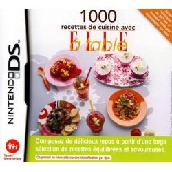 DS 1000 RECETTES DE CUISINE AVEC ELLE A TABLE - Jeux DS au prix de 7,95€