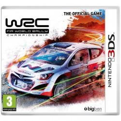 3DS WRC FIA WORLD RALLY CHAMPIONSHIP THE OFFICIAL GAME - Jeux 3DS au prix de 12,95€
