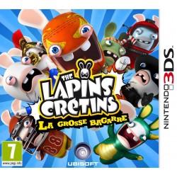 3DS LAPINS CRETINS LA GROSSE BAGARRE - Jeux 3DS au prix de 9,95€