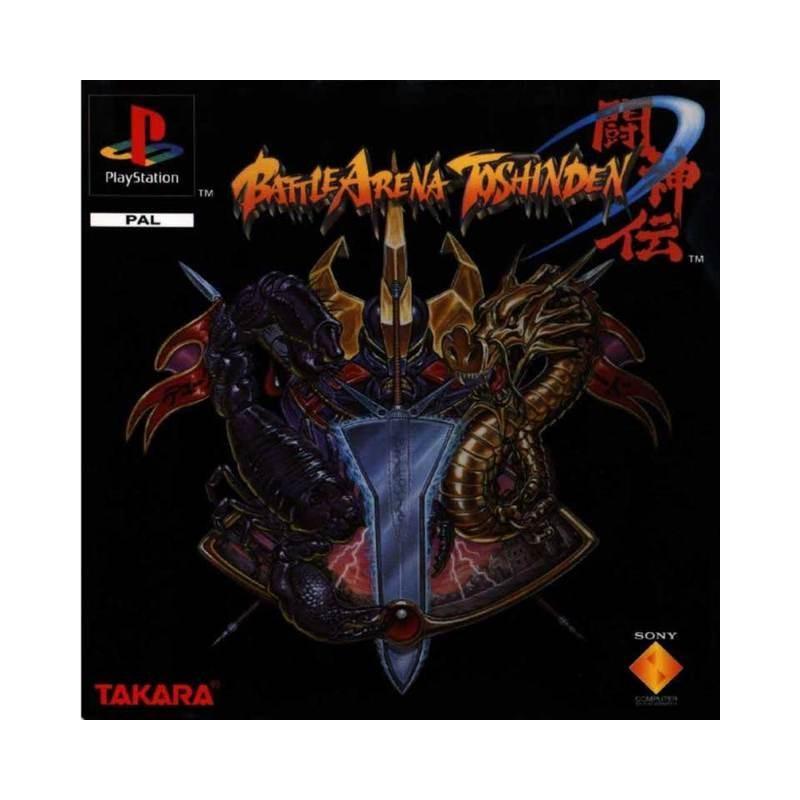 PSX BATTLE ARENA TOSHINDEN - Jeux PS1 au prix de 7,95€