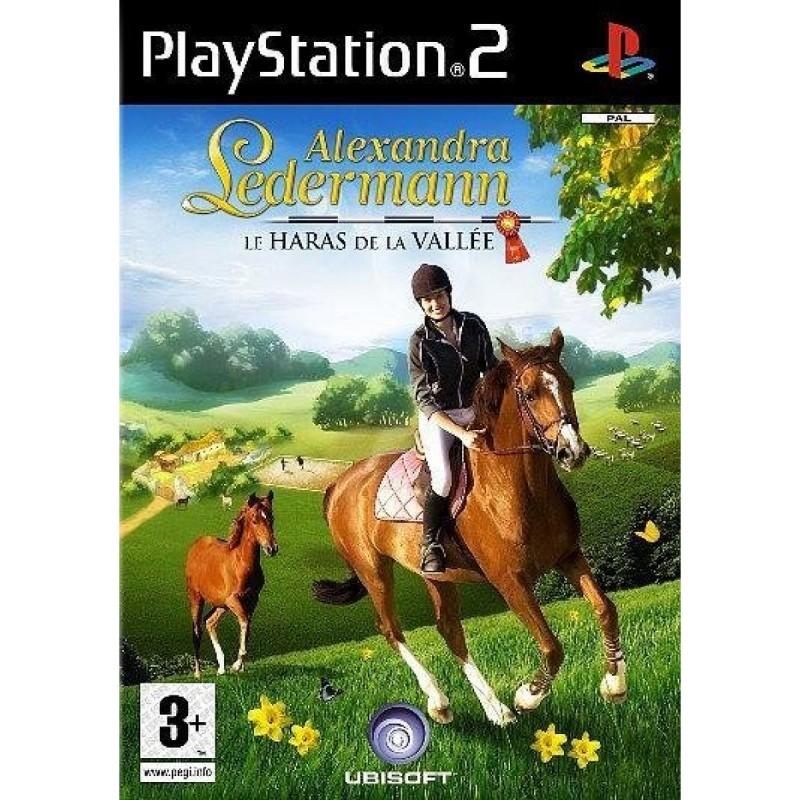 PS2 ALEXANDRA LEDERMANN HARAS DE LA VALLEE - Jeux PS2 au prix de 4,95€