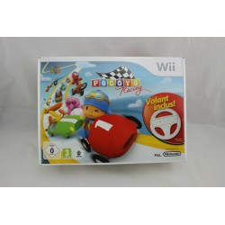 WII POCOYO RACING AVEC VOLANT INCLUS - Jeux Wii au prix de 14,95€
