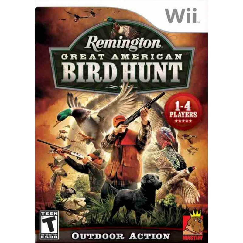 WII REMINGTON GREAT AMERICAN BIRD HUNT - Jeux Wii au prix de 24,95 €