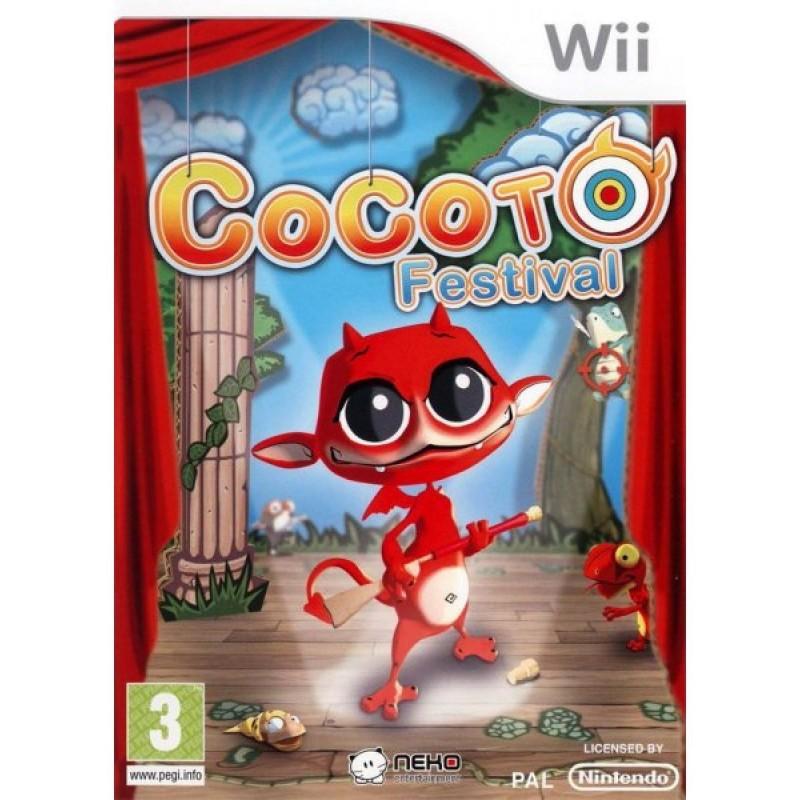 WII COCOTO FESTIVAL - Jeux Wii au prix de 7,95€