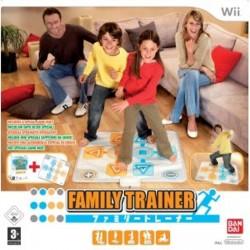 WII FAMILLY TRAINER ET TAPIS - Jeux Wii au prix de 19,95€
